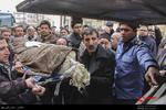 وداع با شکوه مؤمنین تهران با پیکر مطهر حاج مشتاقعلی احمدی