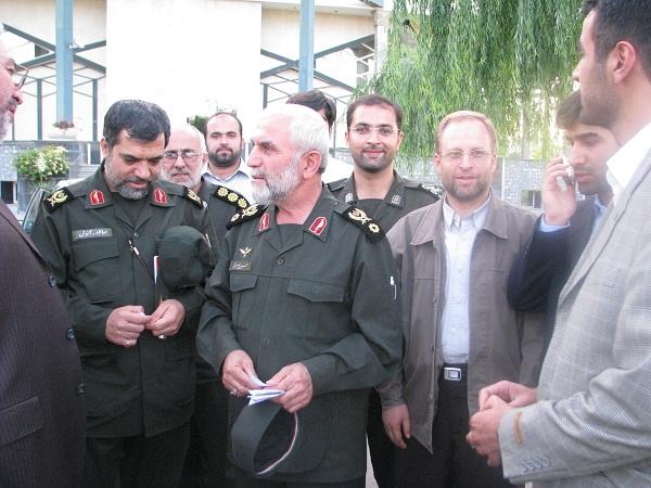 گزارش تصویری از سردار شهید همدانی در مراسم سوم خرداد استان قزوین