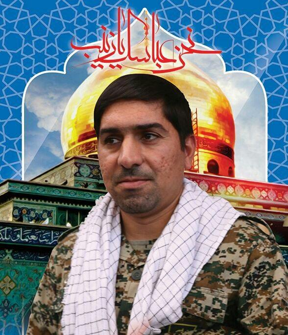 دیدار مسئول سازمان بسیج فرهنگیان قم با خانواده شهید مدافع حرم