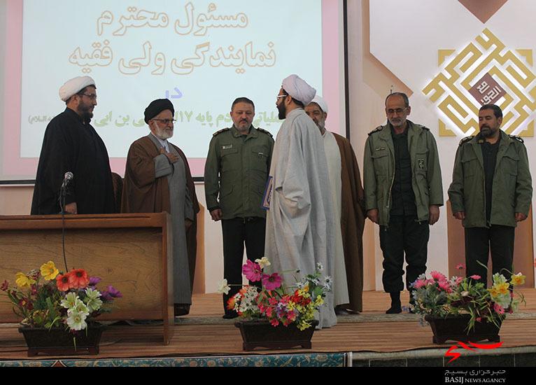 مسئول جدید دفتر نمايندگي ولي فقيه در لشكر عملياتي سپاه استان قم معرفی شد