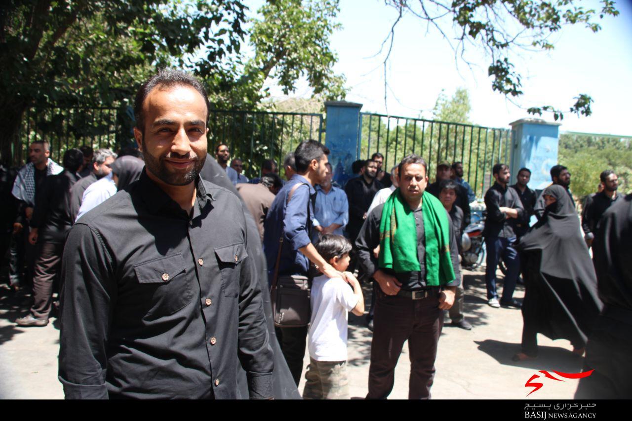 مهدی نعمایی عالی از استان البرز  به فیض شهادت نائل امد