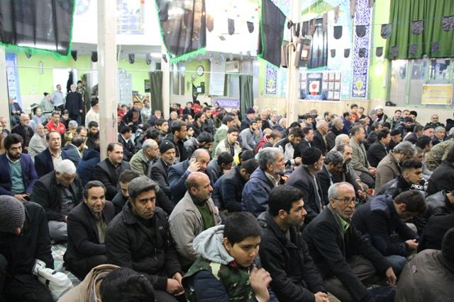برگزاری مراسم یادواره شهدای آتش نشان و مدافع حرم در شهرستان قدس