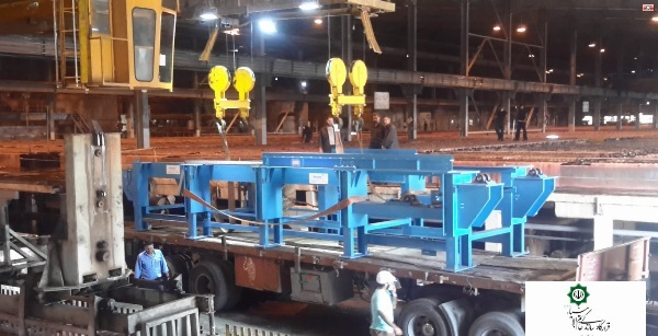 پروژه ساخت وتأمین ماشین رباتیک جداکننده کاتد مس در کارخانه مس سرچشمه