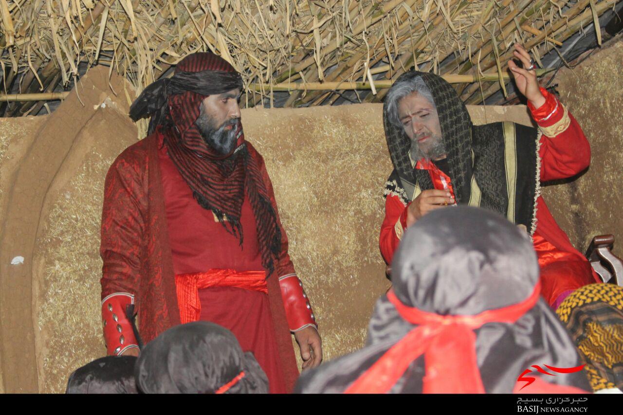نمایشگاه یاس کبود هم سن مادر سادات شد