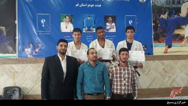 جودوکاران ورزشکار بسیجی ناحیه امام حسین(ع) بار دیگر افتخار آفریدند