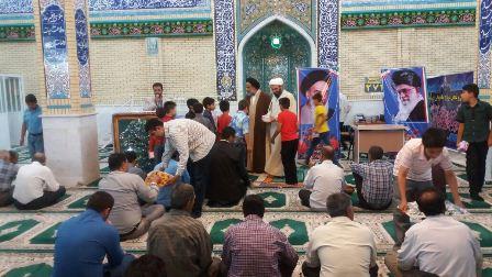 مراسم جشن میلاد حضرت ولیعصر(عج)  در مسجد جامع سروستان برگزار گردید