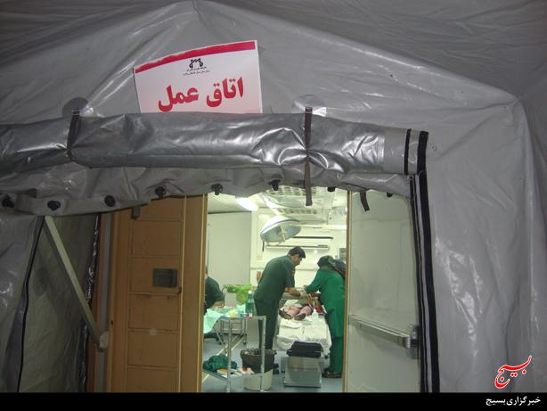 خدمات رایگان بسیج جامعه پزشکی استان قم در ایام نیمه شعبان