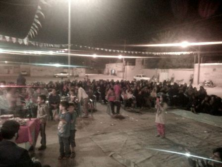مراسم جشن بزرگ تولد امام عصر(عج) در روستای دهنو سروستان برگزار شد