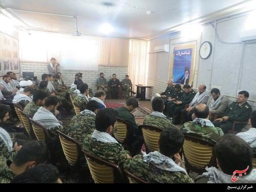 حضور گروه بازرسی سازمان بسیج مستضعفین در حوزه شهید ابراهیمی قم/تصاویر