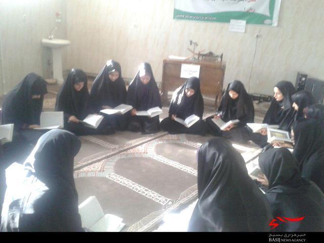 آموزش روخوانی قرآن برای 250 دانش آموز بسیجی کوهدشتی