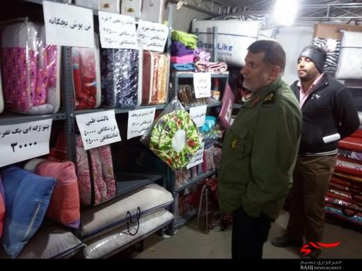 بازدید فرمانده سپاه استان البرز از غرفه های اقتصاد مقاومتی +عکس