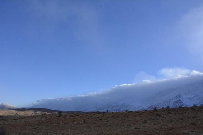 غروب مه الود و غم انگیز دنا بعد از تلاش تیم جستجوی هواپیمای مفقود شده
