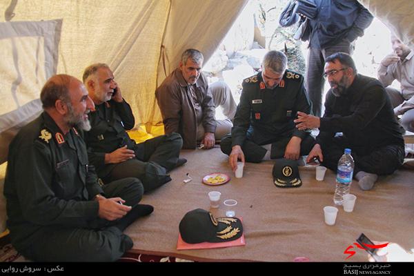 تشکیل قرارگاه جهادی سردار شهید جعفری در سرپل ذهاب