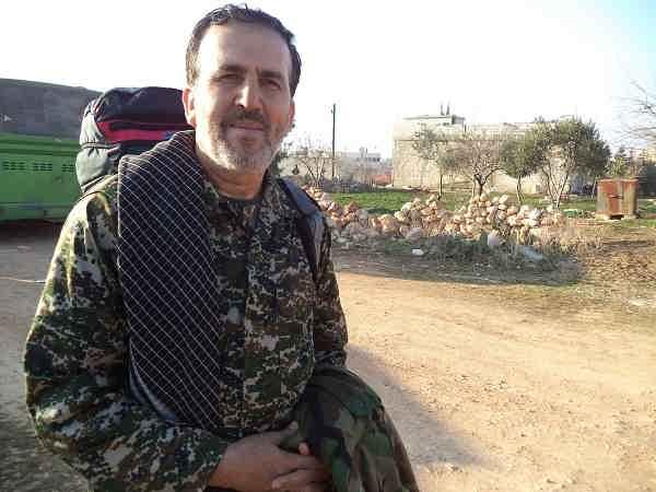 تصاویر دیده نشده پیشکسوت بسیجی شهید مدافع حرم رحیم کابلی