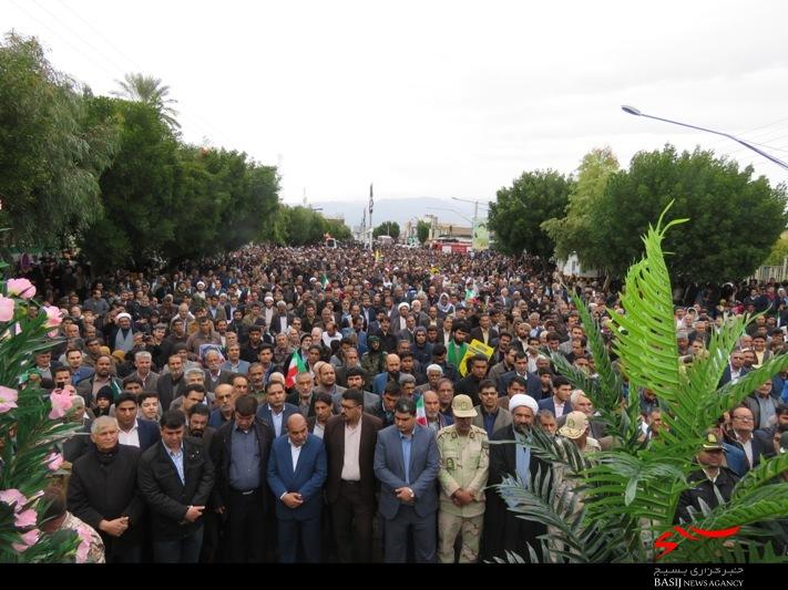 حضور پرشور مردم جیرفت در راه پیمایی 22 بهمن