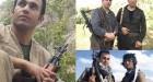 تصاویر اقدامات همکاران تروریست رامین حسینپناهی/ کومله یعنی با موزائیک سر بریدن!