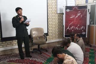 تصاویر/ برپایی مراسم عزاداری امام جواد (ع) در ناحیه امام حسن مجتبی (ع)