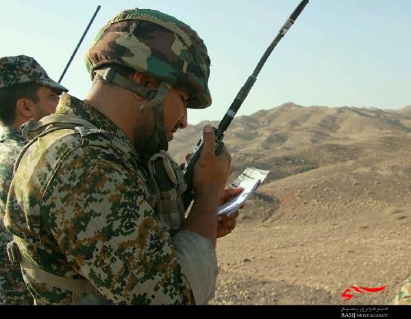 اجرای تمرینات تاکتیکی لشکر ۱۷ امام علی بن ابی طالب (ع) در منطقه قلعه عبدالله قم+ تصاویر