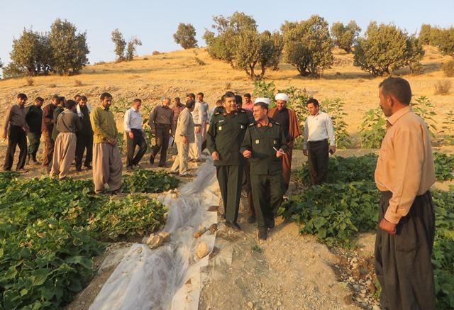 موج خدمت رسانی گروههای جهادی برای محرومیت زدایی در ملکشاهی + تصاویر