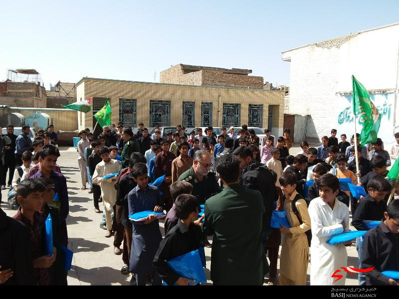 حمایت مالی بازاریان سیستان و بلوچستان از دانش آموزان