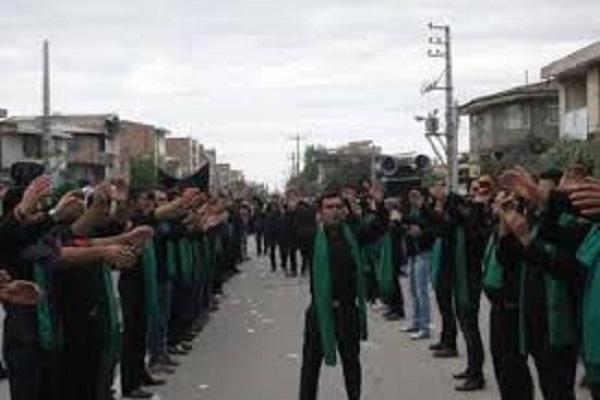دسته روی هیاتهای مذهبی عزادار فردا در تاسوعا و عاشورای حسینی