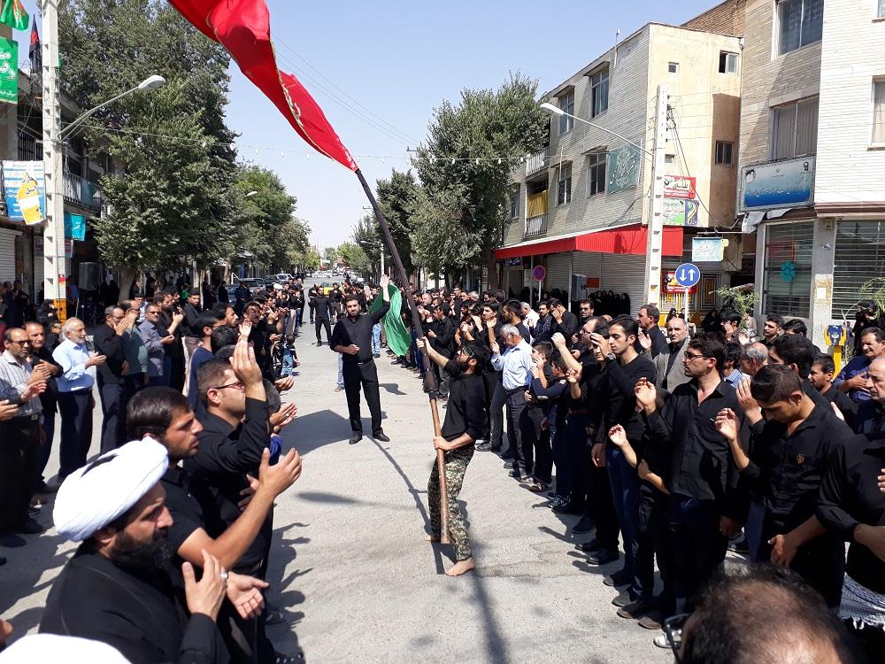 برگزاری تجمع بزرگ عاشوراییان حسینی در فارسان