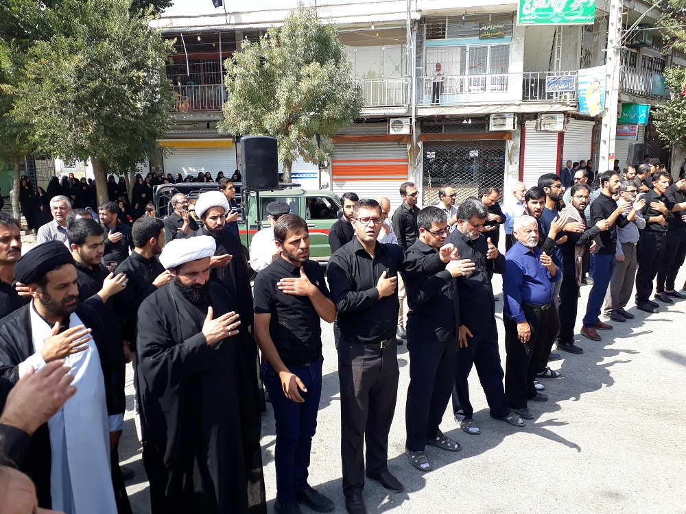 اجتماع بزرگ عاشورائیان در فارسان