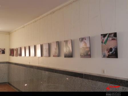 برگزاری نمایشگاه جلوه های ایثار در ساوه