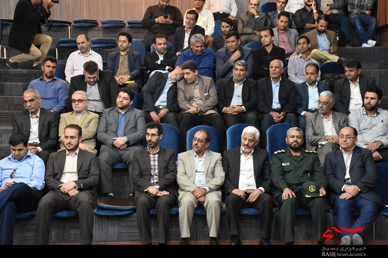 آیین تکریم و معارفه مسئول بسیج رسانه گلستان