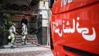 آتش سوزی مغازه تولید عسل در خیابان پاسداران تبریز