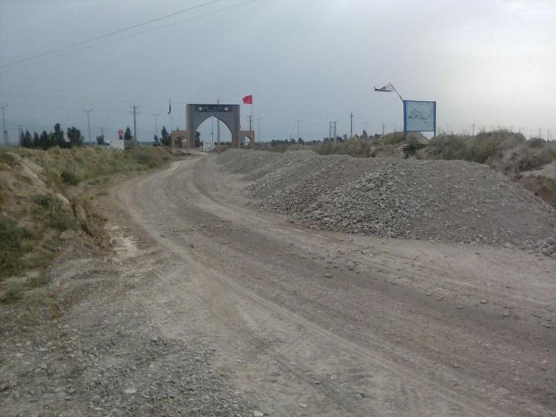 طرح بهسازی و آسفالت مسیر زیارتگاه قلاویزان مهران آغاز شد + تصاویر