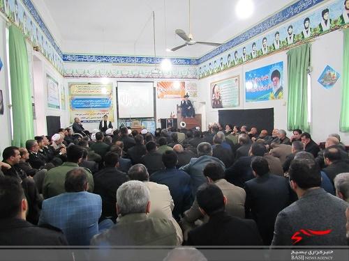 مراسم گرامیداشت سپهبد شهید سلیمانی در سپاه  نکا +تصاویر