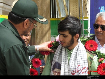 قدردانی از دانش آموز قهرمان سیرجانی و اقدام ضد صهیونیستی وی