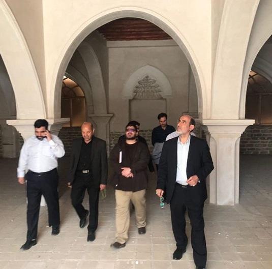 بازدید سردار سپهر از شهرک سینمایی انقلاب و دفاع مقدس