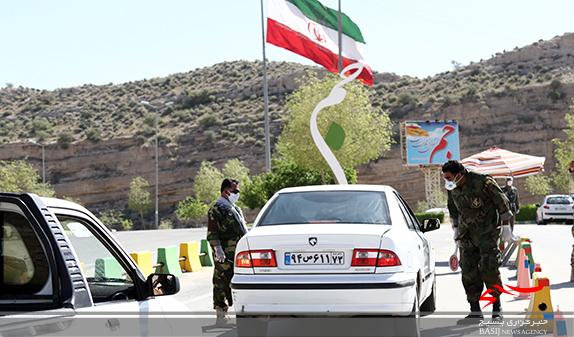 بازدید سردار رزمجو از ایست و بازرسی ورودی جم