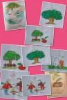 مسابقه نقاشی در منطقه عشایری صمصامی