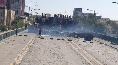 اعتراضات و تجمعات در چند استان عراق
