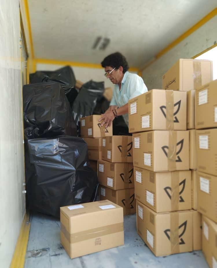 ارسال اولین بستههای ماسک از طریق وب سایت