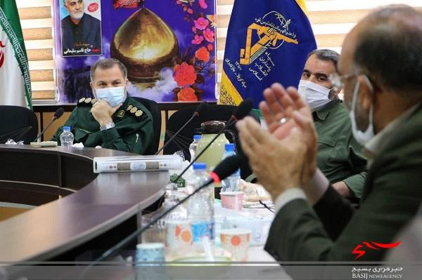 حمایت جامعه پیشکسوتان دفاع مقدس مازندران از برنامههای تعالی بخش فرمانده جدید سپاه کربلا