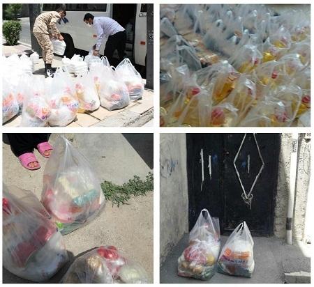 رزمایش خدمت مومنانه خواهران بسیجی در مناطق محروم تهران