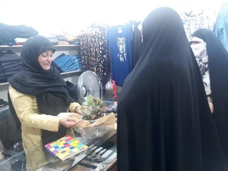تقدیر و تجلیل از بانوان باحجاب شاغل در سطح محل