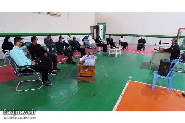 دیدار مربیان و ورزشکاران بسیجی بوشهر با فرمانده سپاه امام صادق (ع)