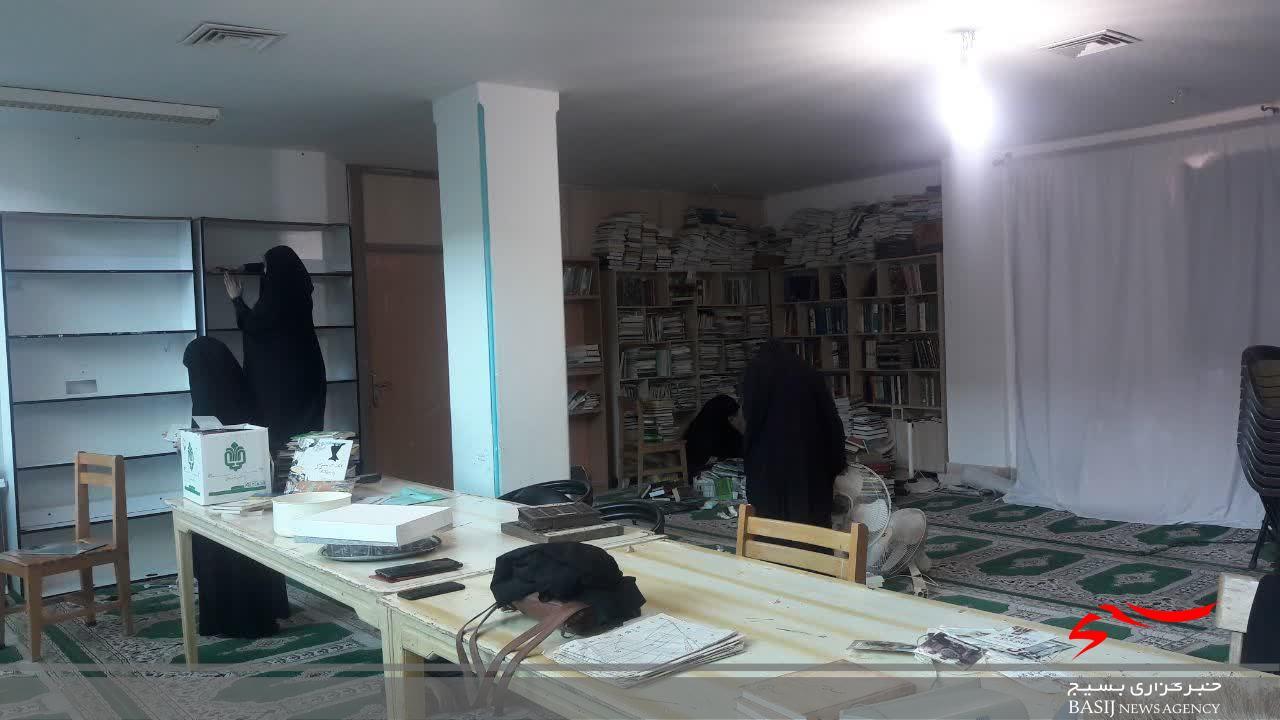 حضور بسیجیان در برنامه های جهادی مسجد محور
