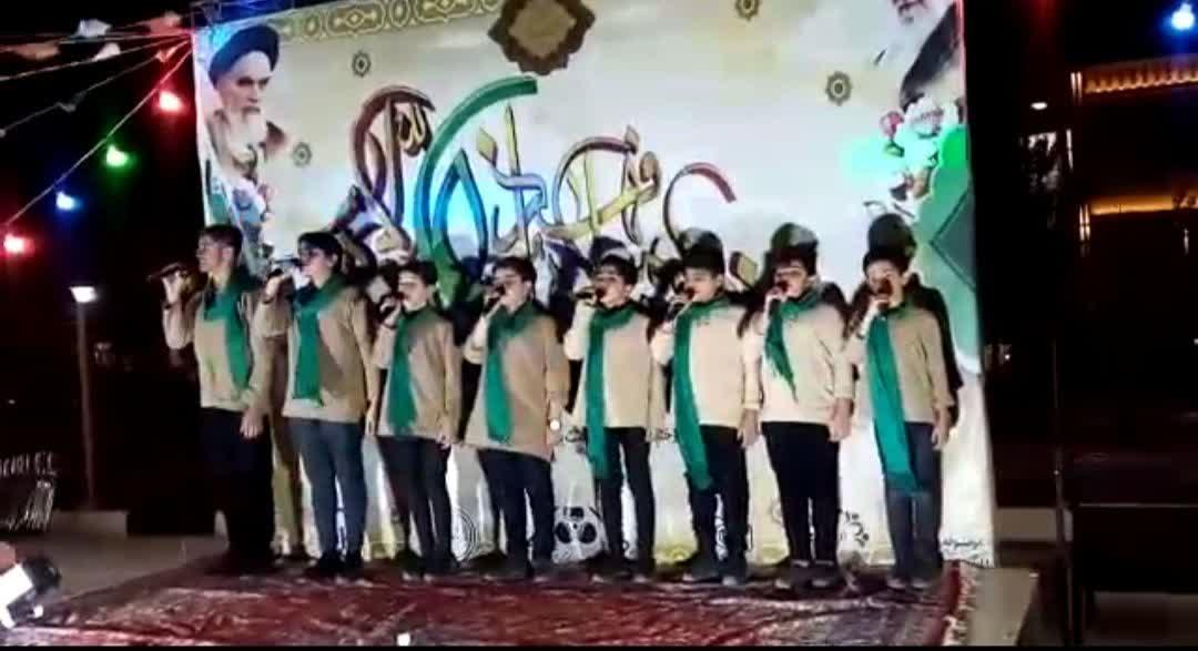 برگزاری برنامه های گرامیداشت عید غدیر در محدوده حوزه بسیج شهید جلالی قنوات