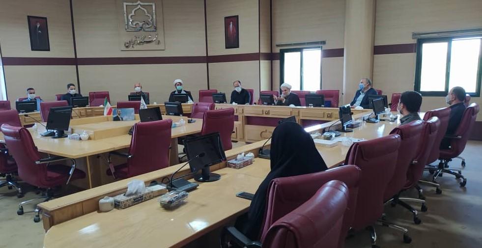 آئین معارفه و تکریم مدیر کانون نهضت استادی دانشگاه زنجان
