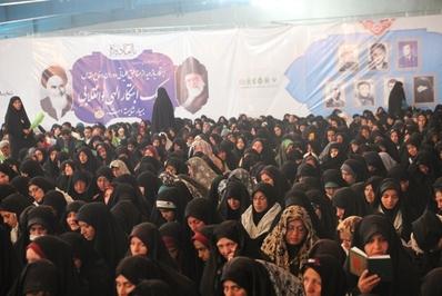 مراسم دعای ندبه در اردوگاه شهید باکری خرمشهر