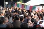 پیکر مطهر شهید مدافع حرم در شهرکرد تشییع شد