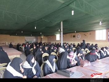 حضور فرماندهان حوزه های ناحیه مرکزی یزد در اردوی کویر نوردی