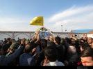 استقبال مردم تبریز از شهید مدافع جرم شهید زوار