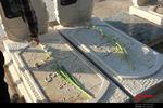 غبارروبی مزار شهدای بقیع در هفته دفاع مقدس